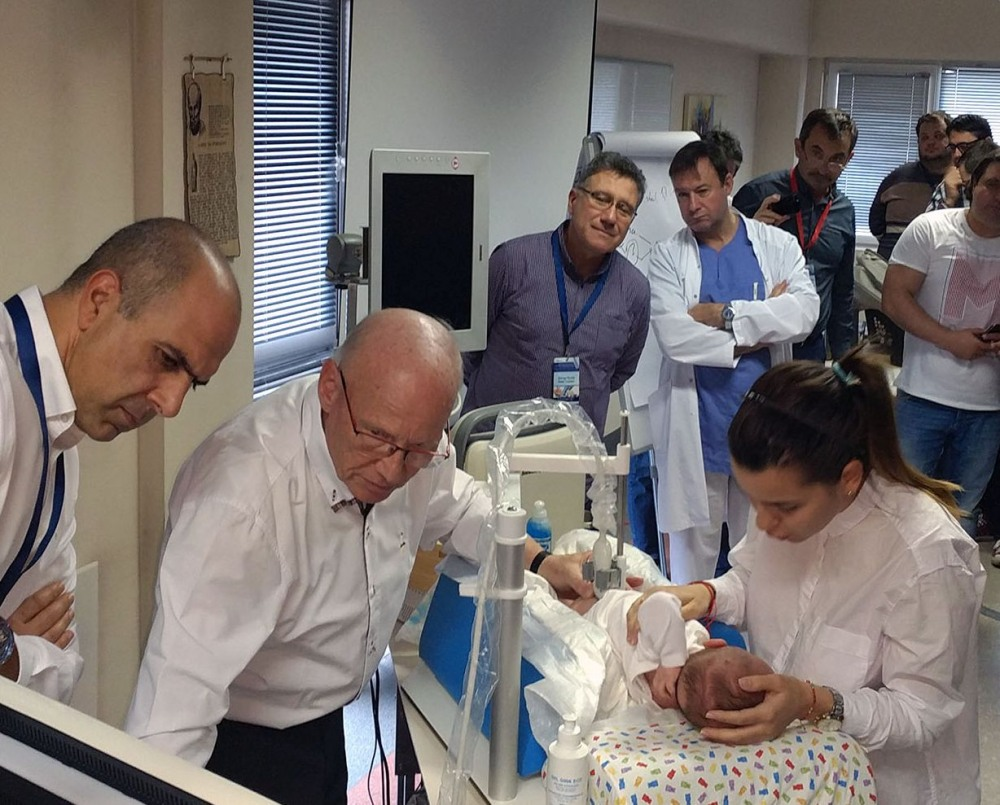 THE SECOND BULGARIAN ULTRASOUND COURSE OF PROF. GRAF FOR THE DIAGNOSIS AND MANAGEMENT OF DYSPLASIA OF THE INFANT HIP